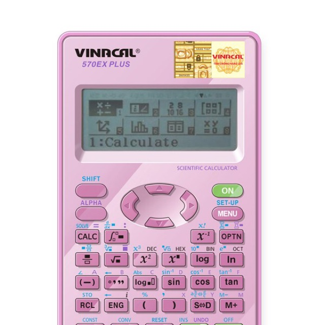Máy tính học sinh Vinacal 570EX Plus II