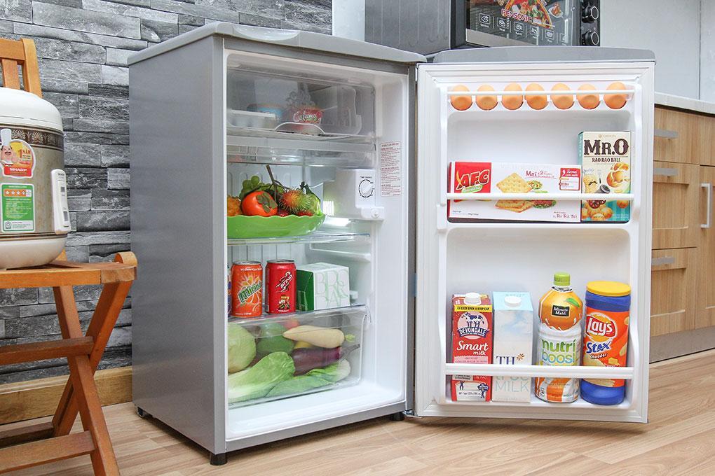 Tủ lạnh Aqua AQR-95AR(SS) 90L (Bạc)