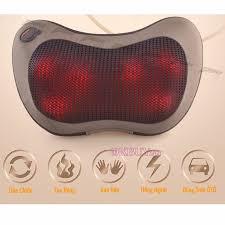 Gối massage hồng ngoại 6bi Hàn Quốc Puli PL-819C