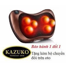 Gối massage hồng ngoại Nhật Bản Kazuko 6 bi